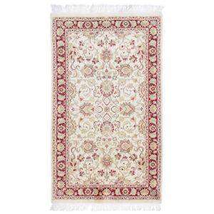 Perserteppich Isfahan 94x158 handgeknüpfte orientteppich
